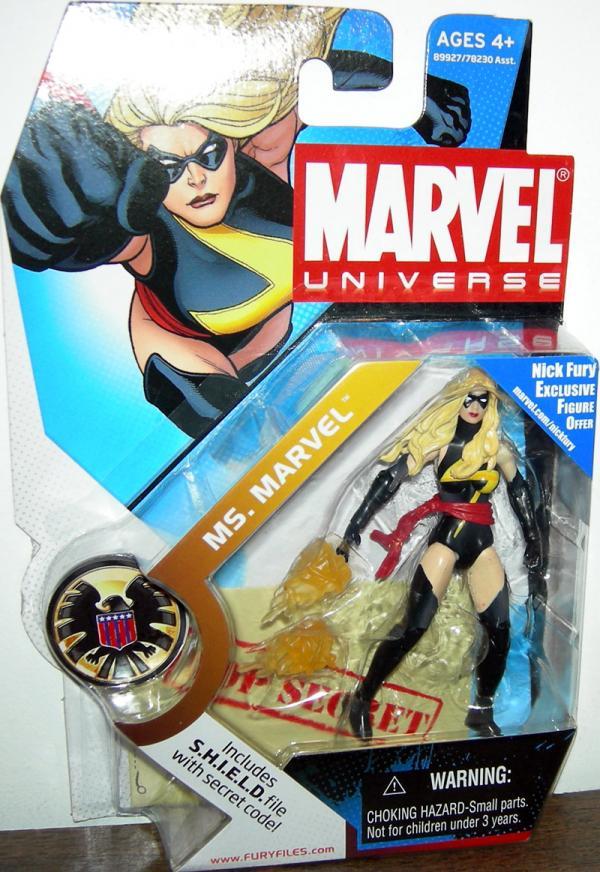 Ms Marvel Marvel Universe 022 action figure