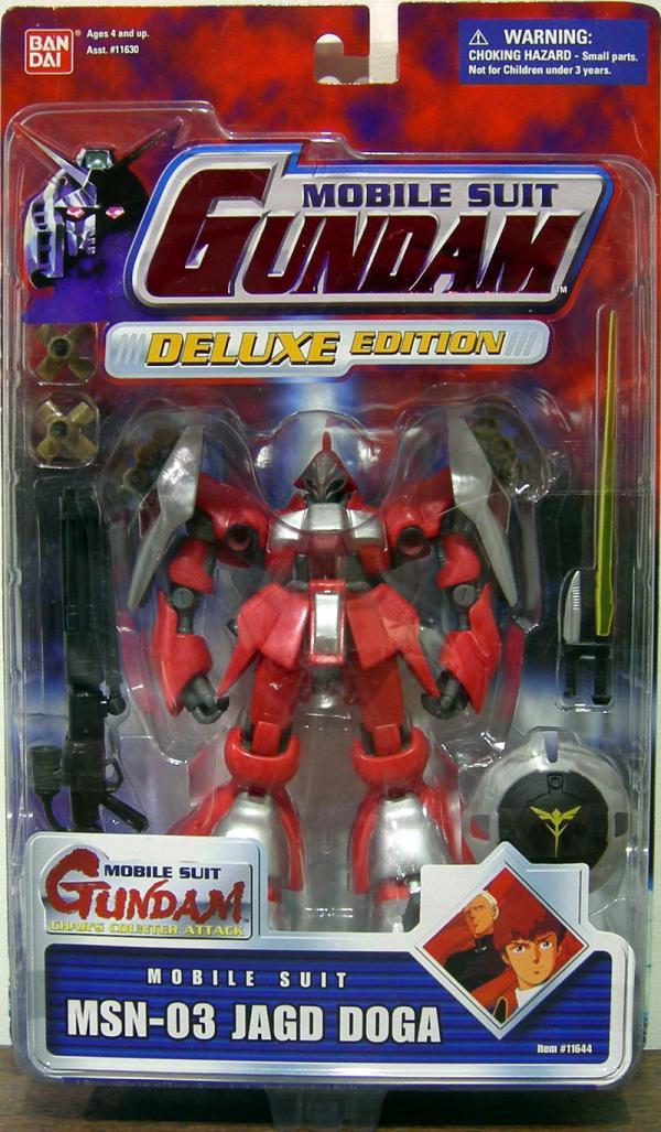 MSN-03 Jagd Doga Red Card Mobile Suit Gundam action figure