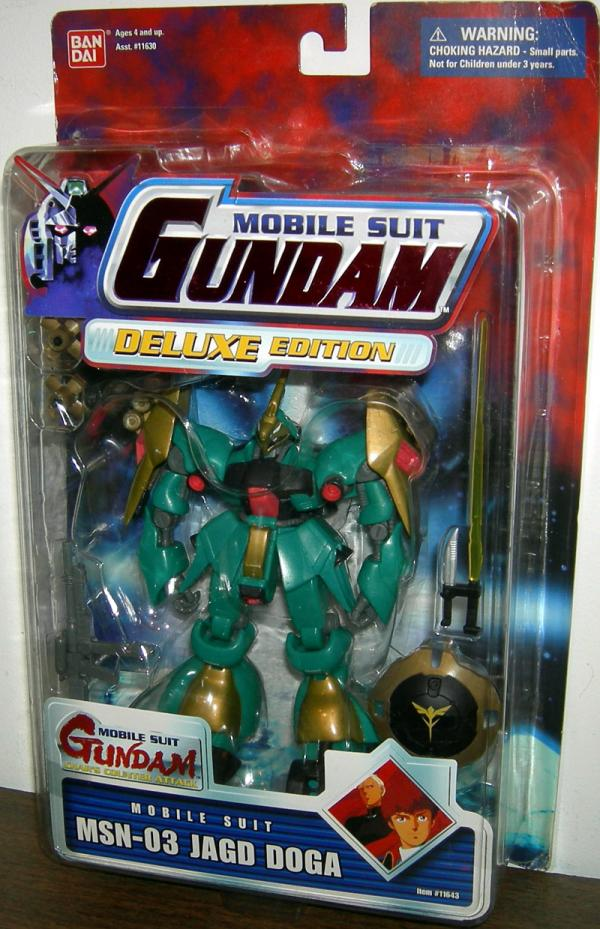 MSN-03 Jagd Doga Green on Red Card Mobile Suit Gundam Action Figure