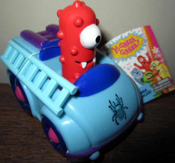 Muno Exterminator Truck Yo Gabba Gabba