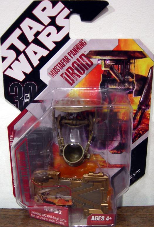 Mustafar Panning Droid Figure 30th Anniversary Star Wars