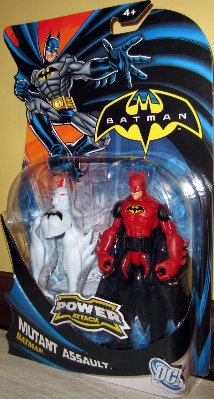 Mutant Assault Batman Power Attack action figure