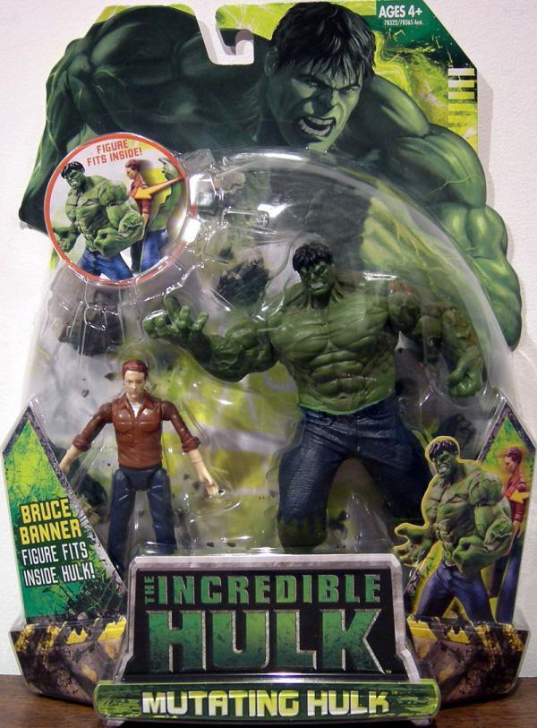 Mutating Hulk Movie Action Figure Hasbro
