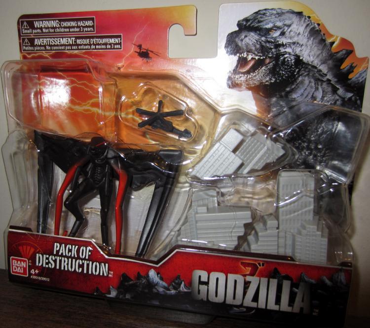 Muto Figure Pack Destruction Godzilla Movie Bandai