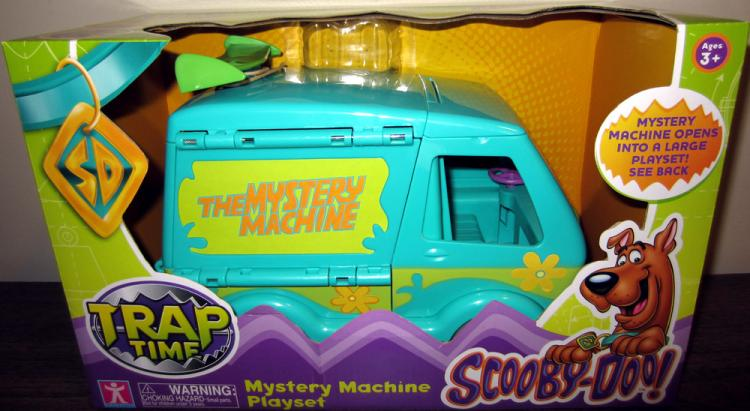 Mystery Machine Playset Trap Time Scooby-Doo vehicle