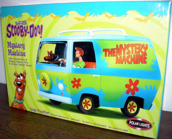 Mystery Machine Model Kit Scooby-Doo Vehicle Polar Lights