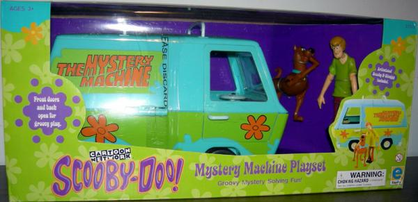 Mystery Machine Playset