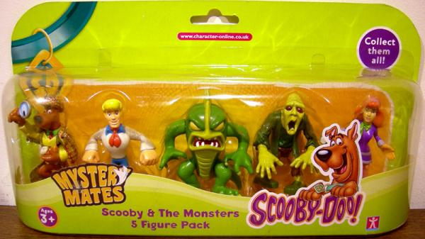 Scooby-Doo Mystery Mates 5-Pack series 1