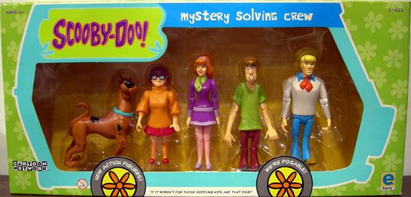 Mystery Solving Crew 5-Pack
