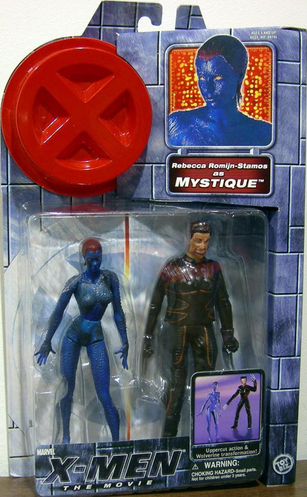 Mystique Figure X-Men Movie Rebecca Romijn-Stamos