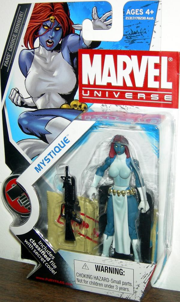 Mystique Figure Marvel Universe Series 2 029 Hasbro