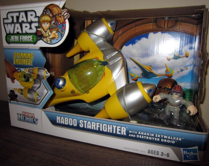 Naboo Starfighter Playskool Heroes action figure