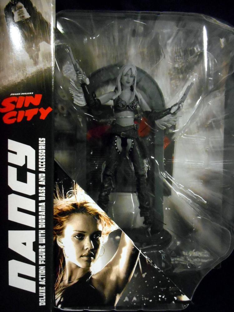 Nancy Figure Black White Previews Exclusive Sin City