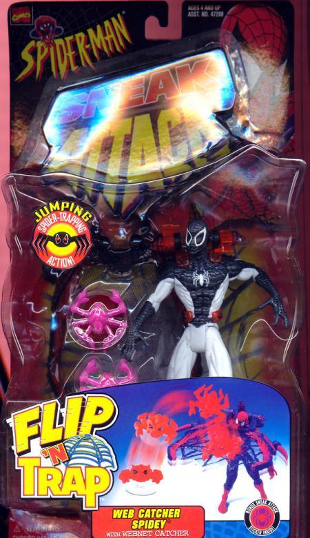 Web Catcher Spidey Negative Zone Spider-Man Sneak Attack figure