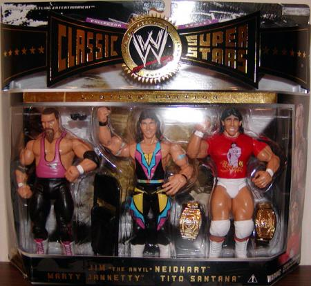 Jim Anvil Neidhart, Marty Jannetty Tito Santana 3-Pack