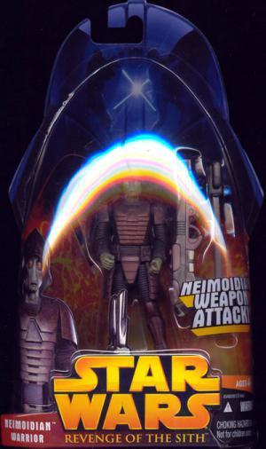 Neimoidian Warrior Figure Revenge Sith 42 Star Wars