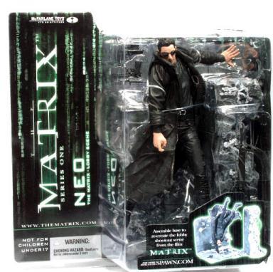 Neo Figure Matrix Movie Series 1 McFarlane Toys