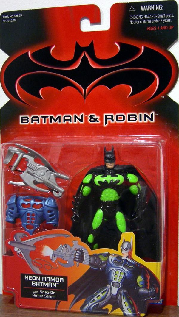Neon Armor Batman Batman Robin