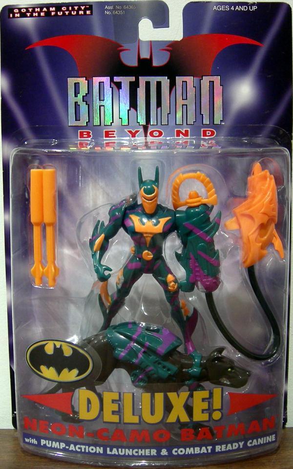 Neon-Camo Batman