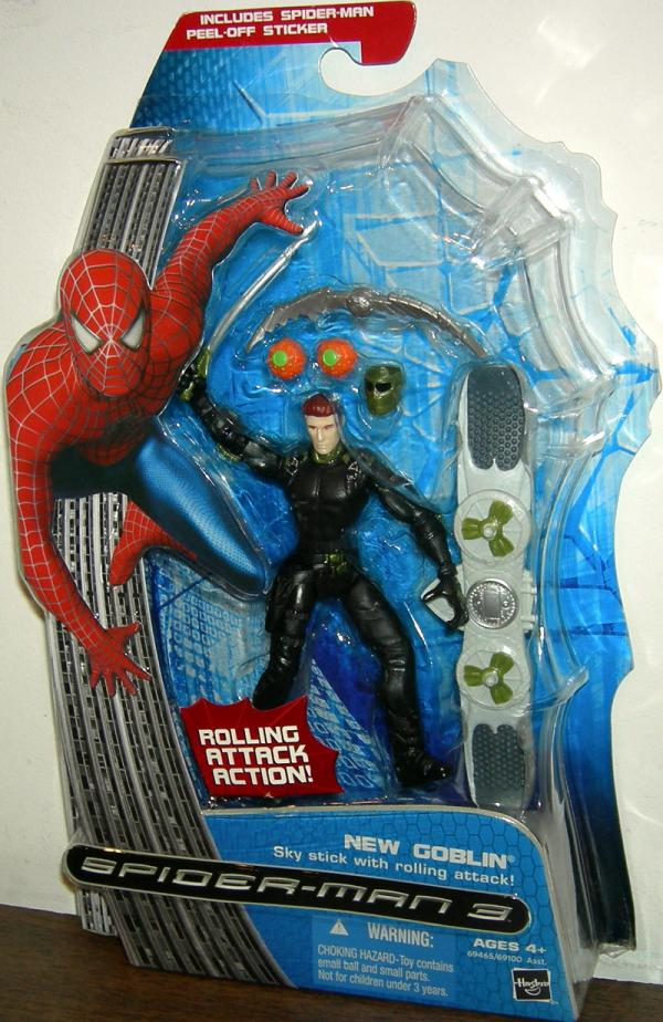 New Goblin Figure Sky Stick Rolling Attack Spider-Man 3