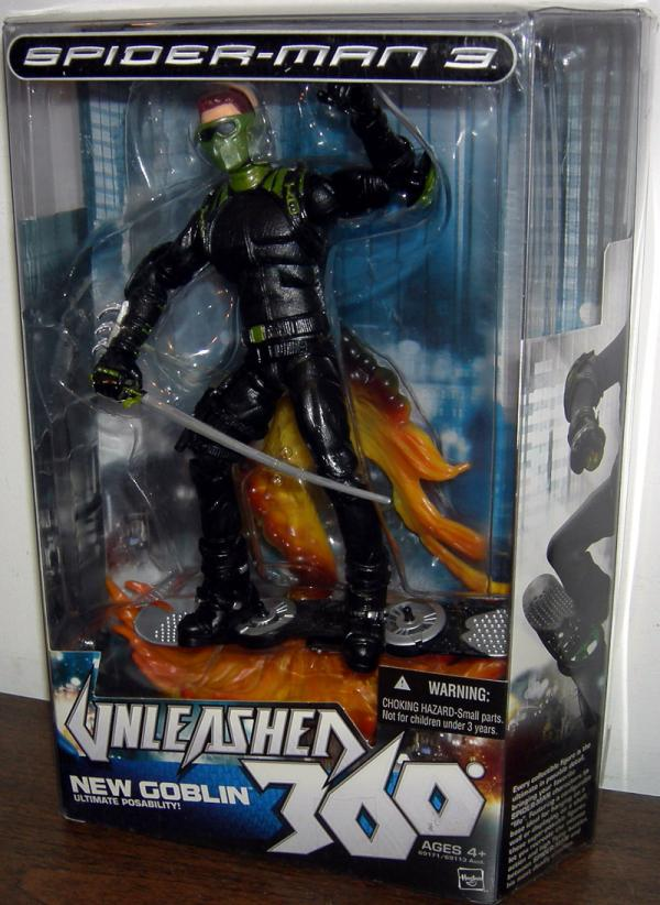 New Goblin Figure Spider-Man 3 Unleashed 360