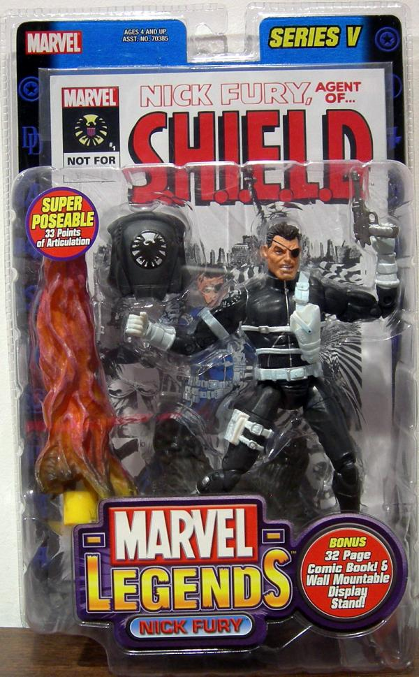 Nick Fury Marvel Legends