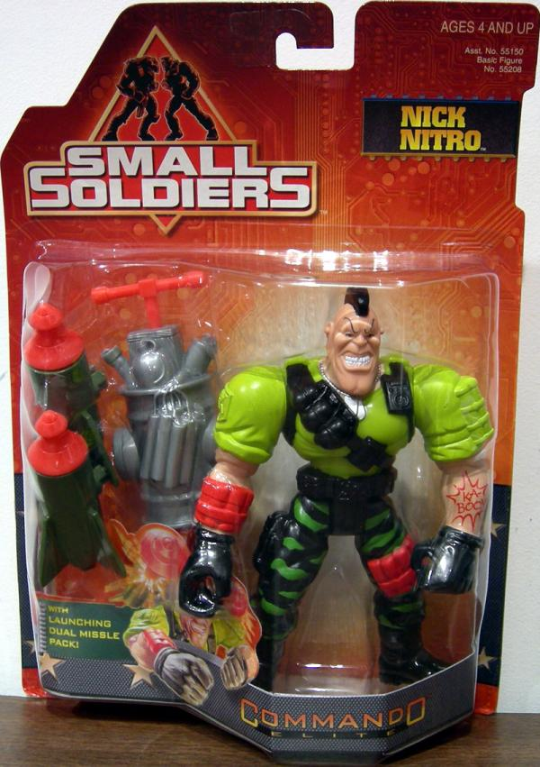 Nick Nitro Figure Small Soldiers Commando Elite Kenner