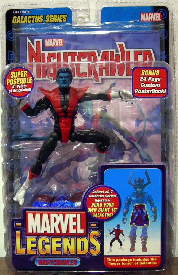 Nightcrawler Marvel Legends