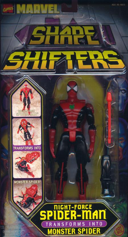 Night-Force Spider-Man Shape Shifters