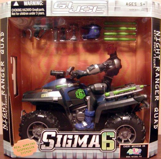 Night Ranger Quad Duke figure Sigma 6