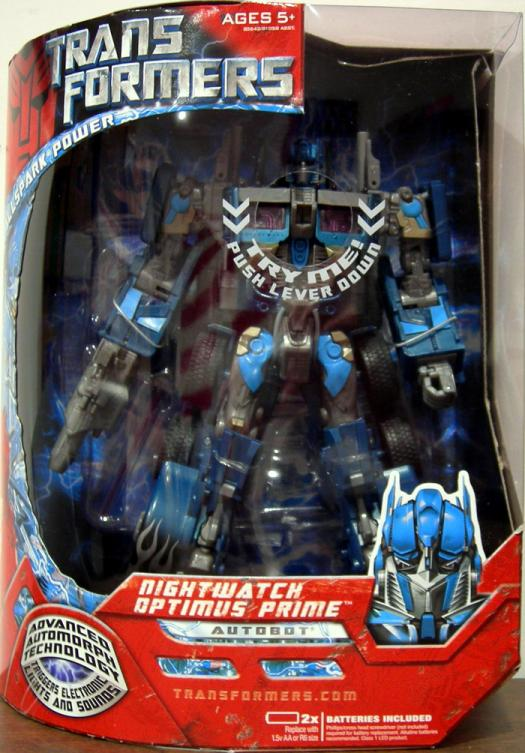 Nightwatch Optimus Prime Leader Class Transformers action figure