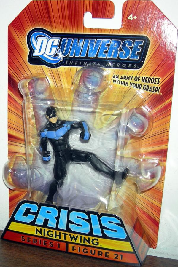 Nightwing Action Figure 21 DC Universe Infinite Heroes Crisis
