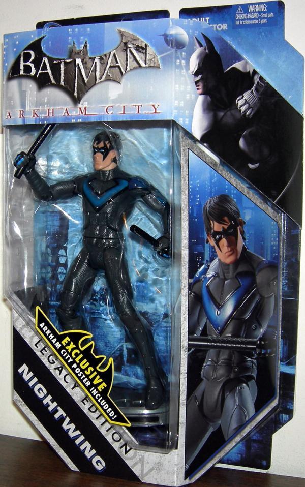 Nightwing DC Universe, Legacy Edition, Arkham city