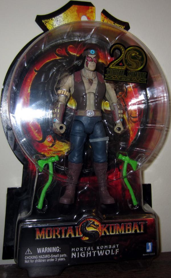 Nightwolf Mortal Kombat 20th Anniversary 6 inch action figure