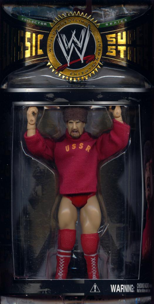 Nikolai Volkoff Figure WWE Classic Super Stars