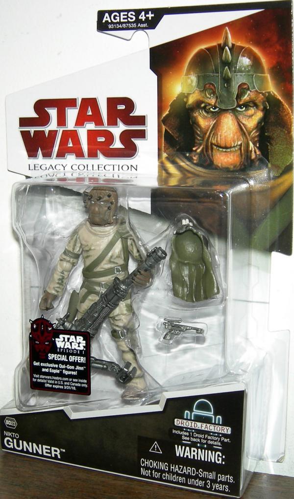Nikto Gunner BD23 Star Wars Legacy Collection action figure