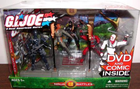 Ninja Battles 5-Pack