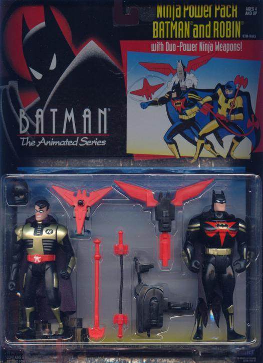 Ninja Power Pack Batman Robin Batman Animated Series