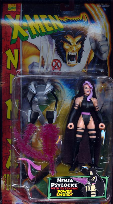 Ninja Psylocke Figure X-Men Ninja Force Toy Biz