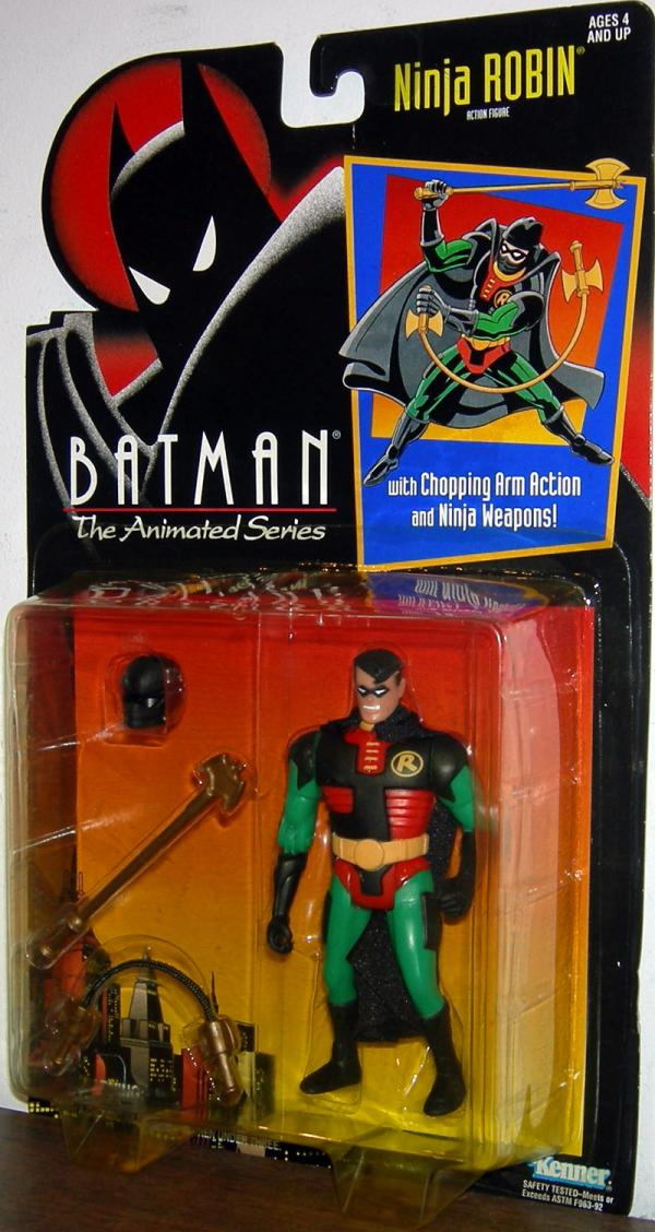 Ninja Robin Batman Animated Series