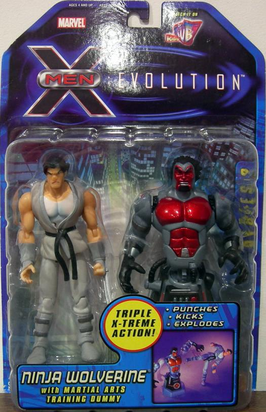 Ninja Wolverine Figure X-Men Evolution Animated Series