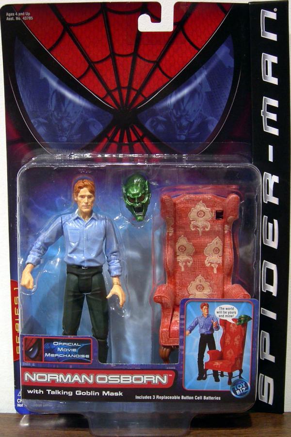 Norman Osborn Action Figure Spider-Man Movie Toy Biz
