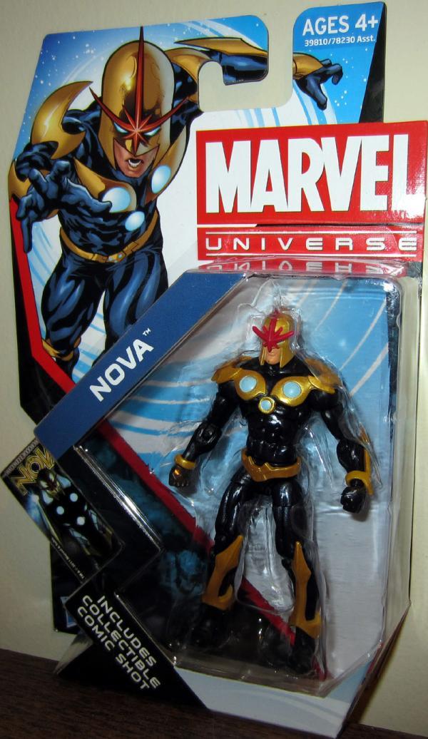 Nova Marvel Universe Action Figure Series 4 019 Hasbro