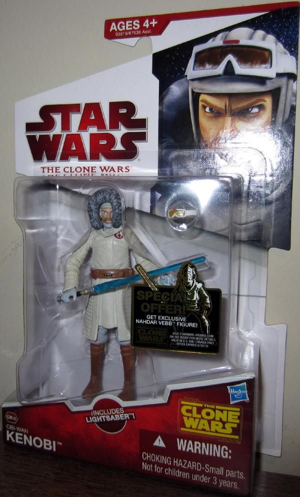 Obi-Wan Kenobi CW48 Star Wars Clone Wars action figure