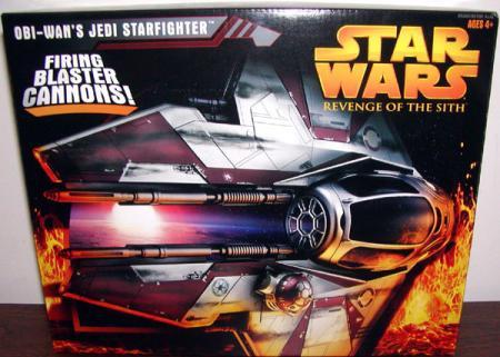 Obi-Wans Jedi Starfighter Revenge Sith
