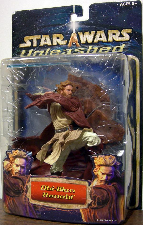Obi-Wan Kenobi Unleashed Action Figure Star Wars