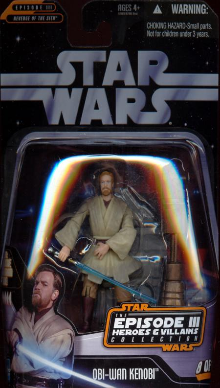 Obi-Wan Kenobi Episode III Heroes Villains Collection, 8 12