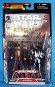 Obi-Wan Kenobi Arc Trooper Figures Comic Packs 07 Star Wars