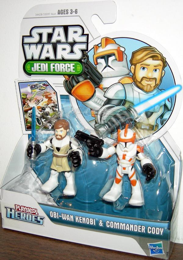 Obi-Wan Kenobi Commander Cody Playskool Heroes