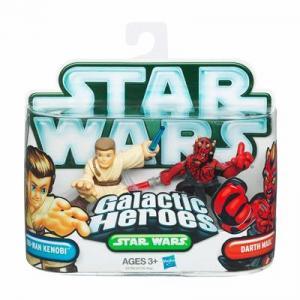 Obi-Wan Kenobi Darth Maul 2 Galactic Heroes